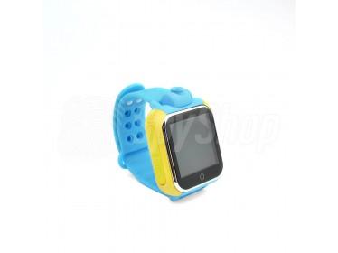 Zegarek GPS W4 dla dziecka z dwustronną komunikacją głosową