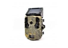 Skonfigurowana fotopułapka SpyPoint Solar z panelem słonecznym
