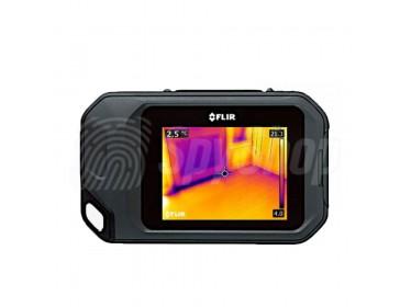 Kieszonkowa kamera termowizyjna FLIR C2 dla przemysłu budowlanego