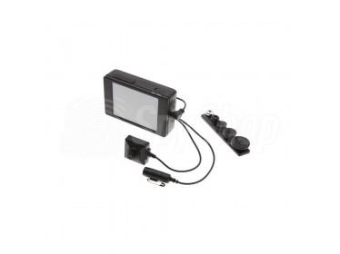 Zestaw PV-500L3-19 - mikrokamera w guziku i rejestrator audio-wideo