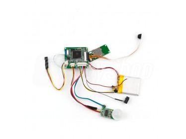 Kamera do samodzielnego montażu z czujnikiem ruchu PIR - HD-08