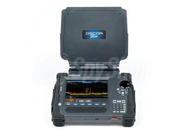 Wykrywanie i analiza transmisji radiowych OSCOR Blue