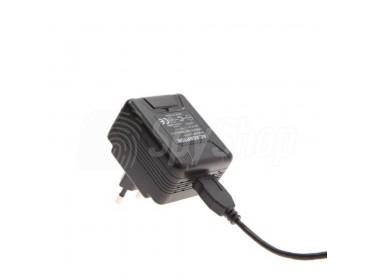 Szpiegowska kamera WiFi PV-UC10I w ładowarce USB do smartphona