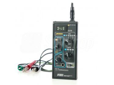 Wzmacniasz sygnałów do mierzenia i wykrywania obcych sygnałów w przewodach - CMA-100