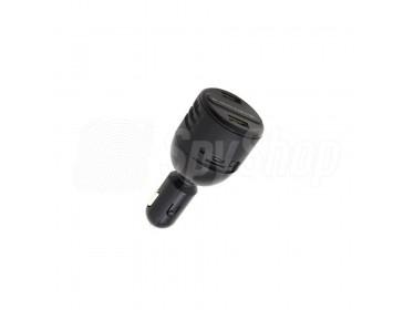 Dyskretna kamera ukryta w samochodowej ładowarce USB PV-CG10