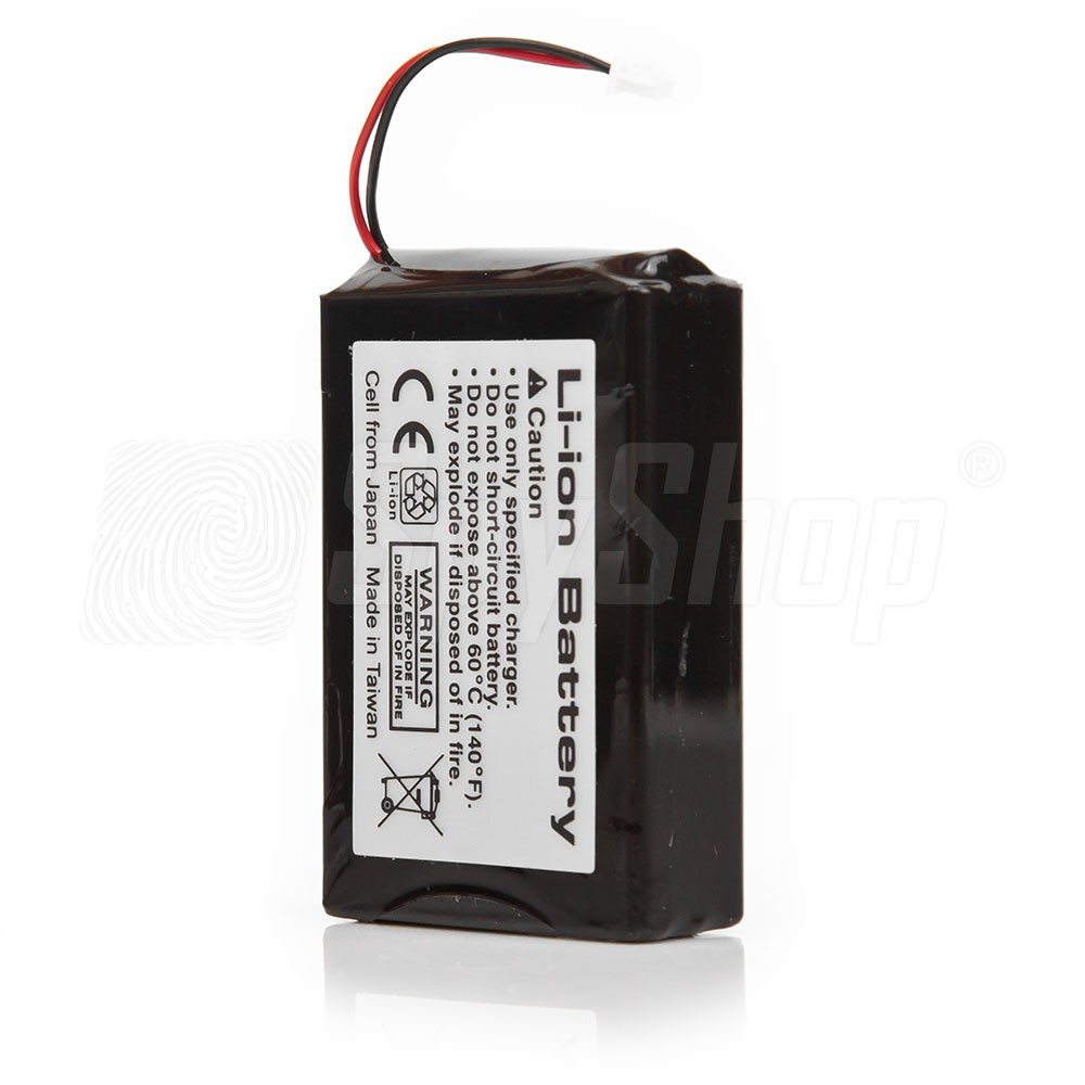 Rechargeable battery for GPS locator