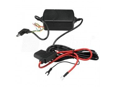 Vehicle power adapter for GPS trackers