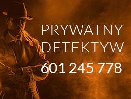 Prywatny detektyw - zadzwoń pod numer 601 245 778